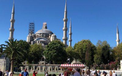AREA DI SOSTA A ISTANBUL